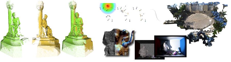 Nuages de Points et Modélisation 3D (NPM) - Master 2 Modélisation